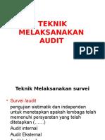 Teknik Melaksanakan Audit 7