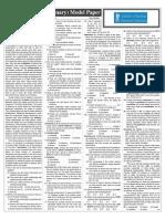 IBPS Clerks v Prelims Practice Paper - Part I