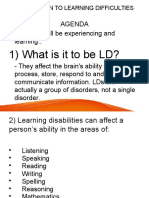 01 - Learning Difficulties