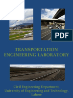 Transportation Engineering Laboratory 1