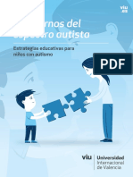 Trastornos del espectro autista. Estrategias educativas para niños con autismo