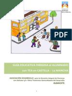 Guía educativa dirigida al alumnado con TEA