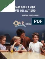 Un viaje por la vida a través del Autismo. Guía para educadores