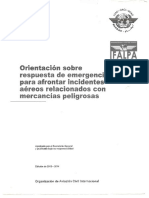Emergency Response Guidance for Aircraft Incidents Involving Dangerous Goods 13-14
