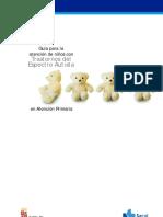Guía para la atención de los niños con Trastorno del Espectro Autista en Atención Primaria