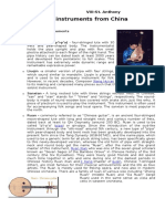 Chinese Opera (Long Bond Paper)