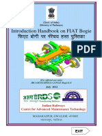 Introduction Handbook on FIAT Bogie