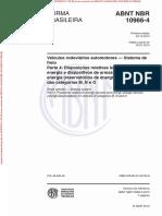 NBR10966-4 - Freios