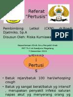PPT Referat Pertusis