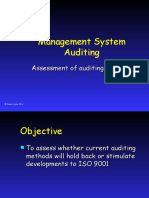 Management System Auditing by David Hoyle