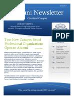 2015 alumni newsletter
