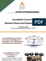 Presentación Institucional ACBSP v1