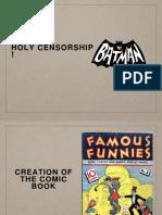 Holy Censorship, Batman!