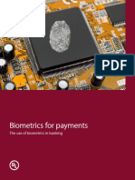 Biometrics for Payments