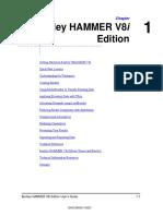 HAMMER V8i User's Guide Ordenado