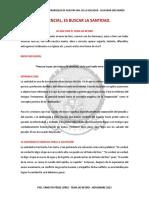 Lo Esencial Es Buscar La Santidad -Tema de Retiro - Ernesto Perez Lopez - Editada