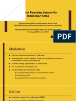22 4 Prof. Eugenia UI Optimal Financing System for Indonesian SMEs