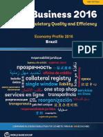 Economy Profile 2016 Brazil