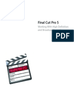 FCP5 HD and Broadcast Formats
