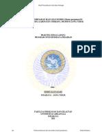 Studi Bioekologi Kerang Simping (Amusium Pleuronectes) Di Perairan