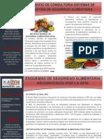 Brochure Alimentos
