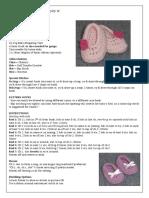 Crochet - Flower Slippers