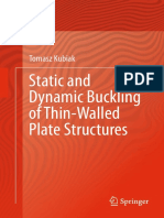 Static and Dynamic Buckling of Thin-Walled Plate Structures