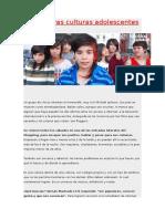 Anexo Parcial - Las Nuevas Culturas Adolescentes