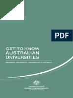 Get to Know Australian Universities