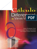 Cálculo diferencial de varias variables - Carlos Fernández Pérez.pdf