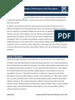 pssa mathematics performance level descriptors