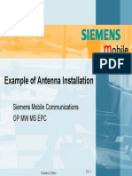 Introduction Slide for Antenna and Wave Guide Installation
