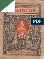 Catecismo Para La Primera Comunión, Año 1929.