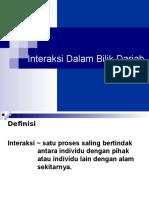 Interaksi Dalam Bilik Darjah (New)