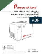 Manual de Operações e Instrucoes Compressor Ingersol Rand