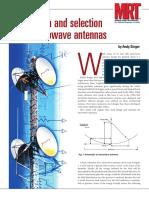Feed Design MW Ant