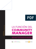 36993616 La Funcion Del Community Manager