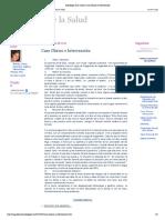 Psicología de La Salud_ Caso Clínico e Intervención