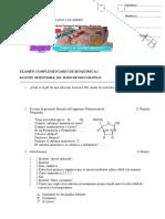 EXAMEN COMPLEMENTARIO DE BIOQUÍMICA I 2014-1.doc