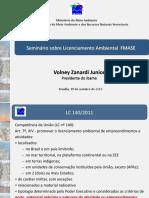 Apresentacao_-_Dr._Volney_Zanardi_-_Licenciamento_-_IBAMA_-_FMASE_17.10.13