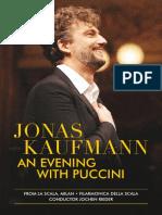 Jonas Kaufmann, 'Evening With Puccini,' Concert Program