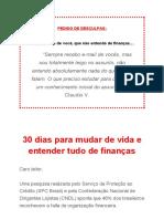 Mudando de vida através das finanças pessoais - um Manual Prático