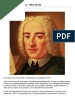 Alessandro Scarlatti 1660 1725