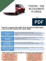 Group 4_Toyota Accelerator Crisis