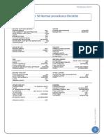 Chechk List Fokker 50