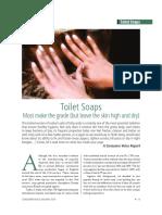 Toilet Soaps