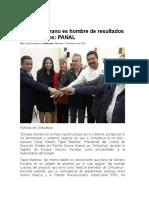 16-02-10 Enrique Serrano Es Hombre de Resultados Comprobados