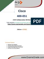 400-051 Guaranteed PDF Study Material