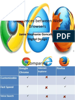 differences between web browsers