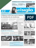 Edición Impresa El Siglo 22-02-2016